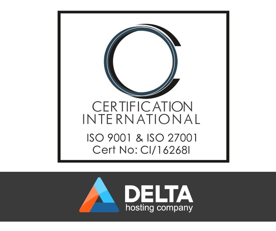 Delta.BG се сертифицира успешно по ISO 9001:2008 и ISO 27001:2013